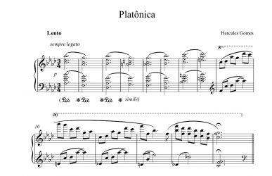 Platônica - Partitura disponível!